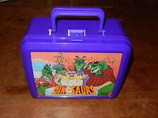 Vintage Aladdin Disney Dinosaurs Lunch Box With Thermos