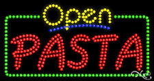 """NEW """"OPEN PASTA"""" 32x17 SOLID/ANIMATED LED SIGN W/CUSTOM OPTIONS 25547"""