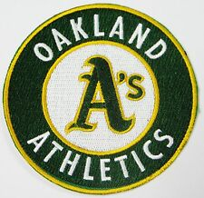 LOT OF (1) MLB BASEBALL OAKLAND A's EMBROIDERED PATCH PATCHES ITEM # 48