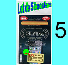LOT DE 5 BOOSTERS Amplificateur d'Antenne, NOUVELLE GENERATION X PLUS, 10+.