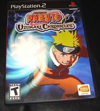 NARUTO: UZUMAKI CHRONICLES for Playstation 2 PS2 (USED)
