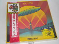 3 LP-BOX: Led Zeppelin – Celebration Day,Limited, JAPAN Edition, NEU (A6/1)