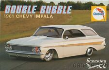 "2016 Greening Auto Glasurit ""Double Bubble"" '61 Chevy Impala SEMA Show info card"