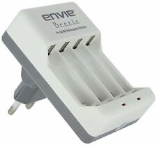 Envie Beetle Battery Charger for all AA, AAA Batteries with 1 year warranty