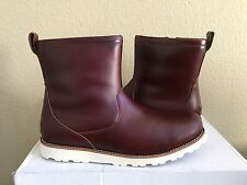 UGG MEN HENDREN TL CORDOVAN WATERPROOF LEATHER Boot US 9 / EU 42 / UK 8 NIB