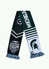 Michigan State 2015 -2016 College Football Playoff Scarf  Cotton Bowl Scarf CFP