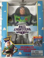"VINTAGE Mint In Box Talking BUZZ LIGHTYEAR 12"" Disney Pixar Toy Story 1995"