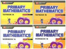 Primary Mathematics Grade 1 Kit( Common Core ED)-Workbooks 1A+1B,Textbooks 1A+1B