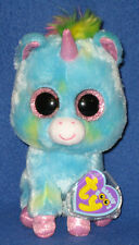 TY BEANIE BOOS - TREASURE the UNICORN -  MINT TAGS - JUSTICE STORE - PLEASE READ