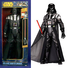 """New - 31"""" DARTH VADER Deluxe Figure WITH LIGHTSABER - Sound Effects TALKS - New!"""