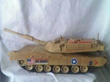 Toy Military Tank Motorized  U.S. Army Light Sound Movement