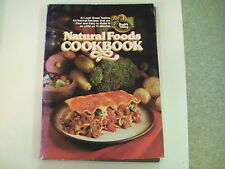 1980 Natural Foods Cookbook Health Valley great gift  under $10