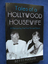 Memoir of BETTY MARVIN Actor LEE MARVIN'S 1st Wife SIGNED & INSCRIBED by Her