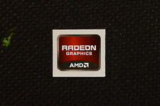 AMD Radeon Graphics Sticker 16.5 x 19.5mm Genuine Case Badge Sticker USA Seller!