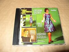 Caterina Valente Great Continental Hits Valente & Violins cd Mint