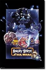 POSTER 5907 65 BL 22 X 34 ANGRY BIRDS STAR WARS - EPIC