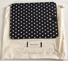 "MARNI iPad/Tablet Case Black Houndstooth, Brand New in Bag 8"" x 10.5"