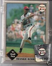 COMPLETE 50 CARD 1991 DRAFT PICK FRONT ROW SET WITH FRANKIE RODRIGUEZ + MORE