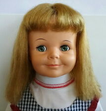Miss Ideal Terry Twist 1961 Playpal Vinyl Doll SP-30-S Blonde Blue Eyes Jointed
