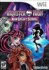 Nintendo Wii Monster High: New Ghoul in School (Nintendo Wii, 2015) NEW & SEALED