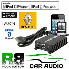 Renault Master 2005 On Car Stereo AUX IN iPod iPhone Bluetooth Interface Cable
