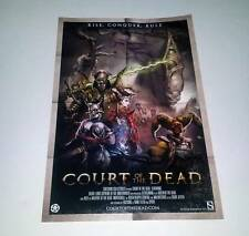 Sideshow Collectibles The Court of the Dead (2014) Mini One Sheet Poster