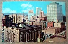 Vintage Scene -Skyline of The City of Denver, Denver, Colorado Postcard  C-342
