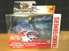2014 Hasbro Transformers Movie 4 DINO SPARKERS BUMBLEBEE & STRAFE Figure MOC NEW