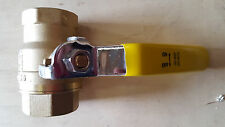 """Outdoor Wood Furnace Boiler/ ball valve 1"""" FPT full port  brass with handle"""