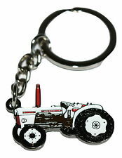 David Brown Vintage Tractor Keyring- Farming Gift Novelty Enamel Keychain