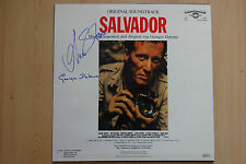 "Salvador ""Georges Delerue"" Autogramm signed LP-Cover ""Soundtrack"" Vinyl"
