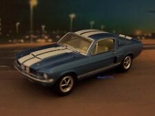 1967 67 FORD SHELBY GT500 MUSTANG FASTBACK COLLECTIBLE DIORAMA MODEL 1/64 SCALE