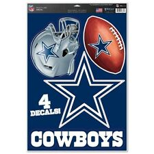"Dallas Cowboys 11"" x 17"" Multi Use Decals - Auto, Walls, Windows, Cornhole"