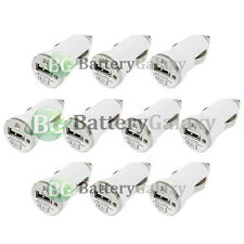 10 NEW USB Travel Battery Car Charger Adapter for Apple iPhone 2G 3G 3GS 4 4G 4S