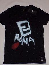 Men's new t-shirt Fendi black color size 46/M