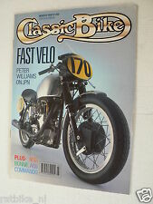 CLASSIC BIKE 1990-03,PETER COOK NORTON JOHN PLAYER  WILLIAMS,BSA A65,VELOCETTE V