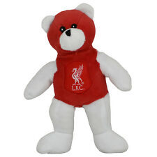 Liverpool FC Crest Soft Mini Teddy BEAR TOY contrasto Kids Baby NUOVO Regalo di Natale