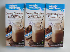 Weight Watchers CREAMY CHOCOLATE Smoothie Shakes (3) Boxes = 21 Smoothie Shakes