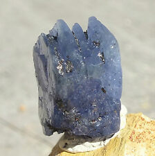 Tanzanite Crystal Raw Blue Zoiste Mineral Terminated Point 4g/20ct 17mm 4 LAYERS