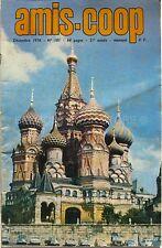 Amis-Coop n°181 - 1976 - Les Animaux à Fourrure - Russie Traditionnelle - Po et
