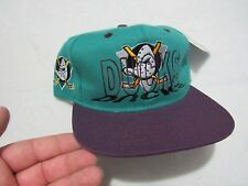NWT VINTAGE ANAHEIM THE MIGHTY DUCKS APPAREL 1 SNAPBACK HAT NHL