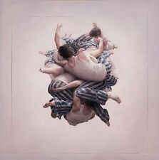 Jeremy Geddes Cluster Study Giclee Art Print Poster Cosmonaut Astronaut Ascent
