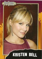 Kristen Bell  POPCARDZ #23 Trading Card. In Protective Sleeve