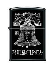 Zippo 218 Philadelphia Liberty Bell 'Art Man' RARE Lighter