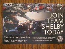 """Shelby Automobiles    """"Join The Team""""    Info Card"""