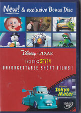 DISNEY PIXAR 7 UNFORGETTABLE SHORT FILMS DVD