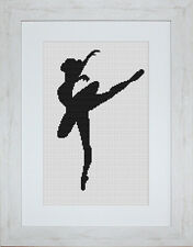 Cross stitch kit ballerine 3 luca-s premium threads