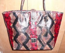 Dooney and Bourke Handbag Purse Leather Multi-Colored Great Condition