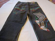Mens Authentic COOGI  pants black Jeans denim W32 L34**see below shoes  EUC @