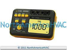 Supco M1000D Megohmmeter /AC Voltage / Digital Insulation Tester